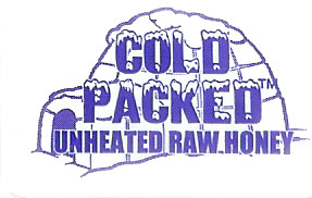 Cold Packed Honey logo