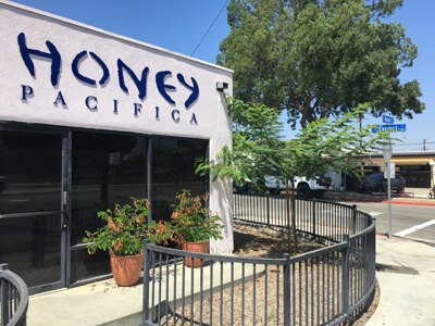 Honey Pacifica Store Front