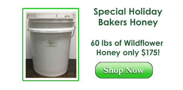 60 lbs of honey special!
