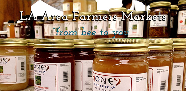 Honey Pacifica at Farmers Markets