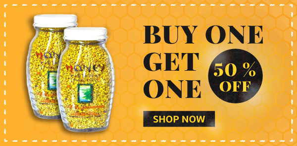Coastal Bee Pollen Sale