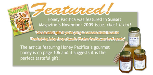 Honey Pacifica in Sunset Magazine
