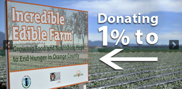 Donating Sales to Solutions of Urban Agriculture