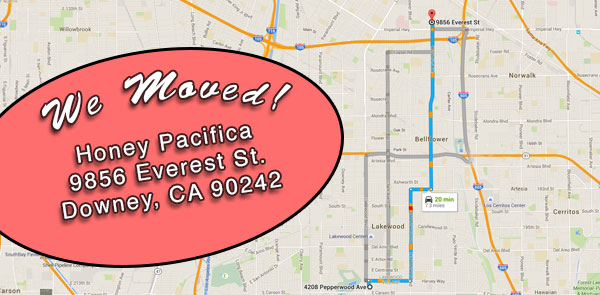 Honey Pacifica moved to Downey, CA